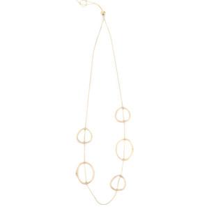 Dansk Smykkekunst Eve Sculpted Long Necklace