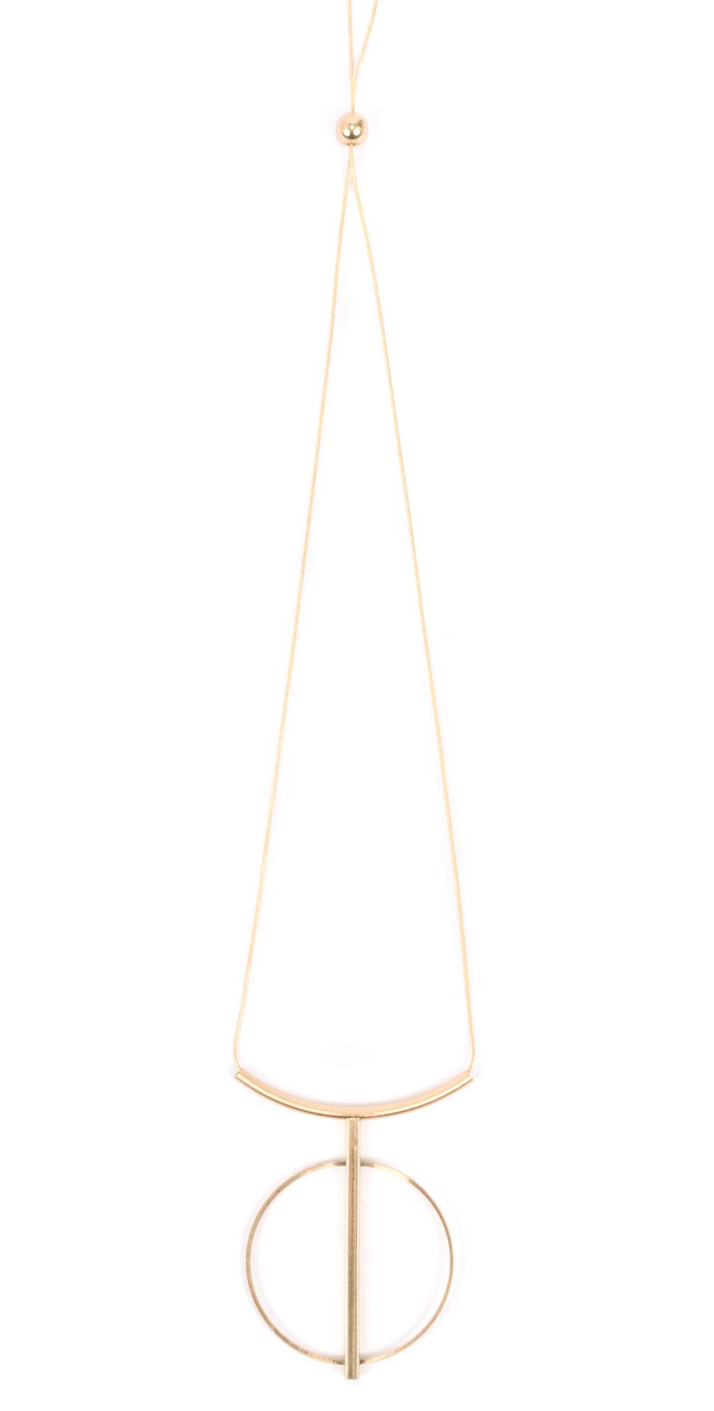 Tamara String Circle Necklace main image