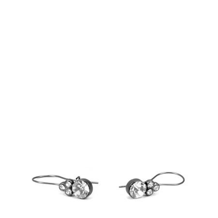Dansk Smykkekunst Crystal Mix Earring - Metallic