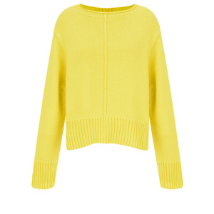 Sandwich Clothing Side Split Cotton Jumper