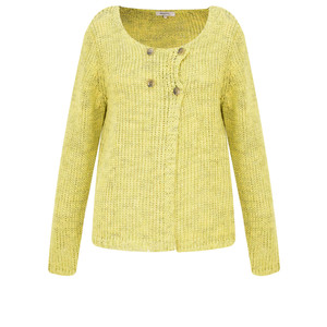 Sandwich Clothing Two Colour Knit Cardigan