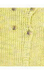 Sandwich Clothing Warm Yellow Two Colour Knit Cardigan