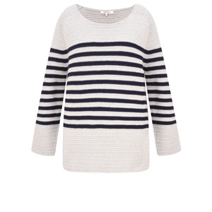 Sandwich Clothing Striped Chunky Knit Jumper