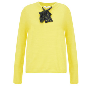 Sandwich Clothing Bow Neck Jumper