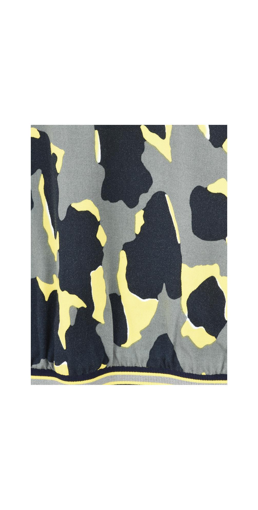 Abstract Animal Spot Print Blouse main image