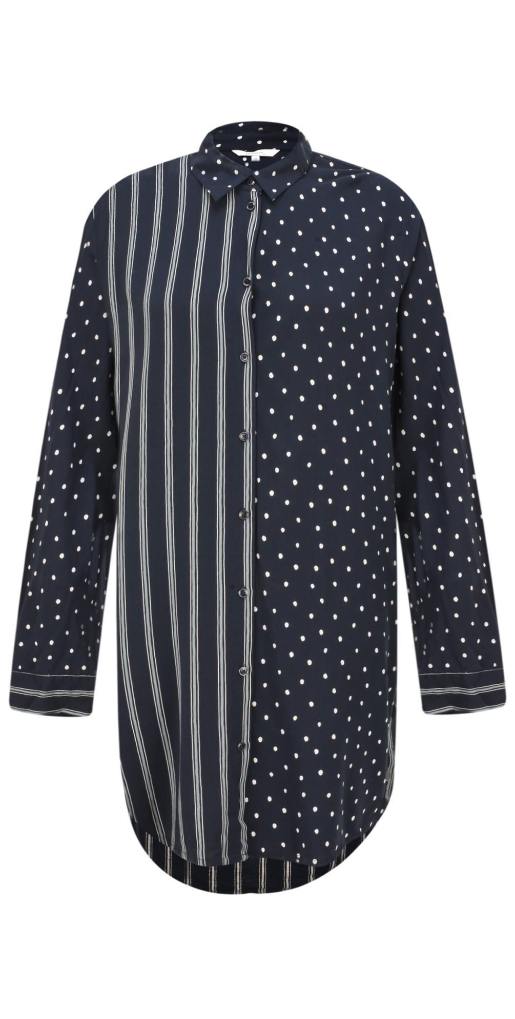Spots & Stripes Tunic Shirt main image