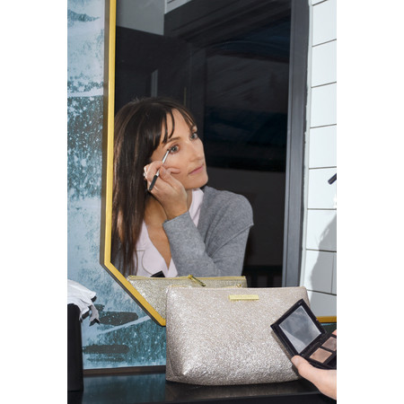 Katie Loxton Mia Make Up Bag - Gold