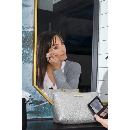 Katie Loxton Mia Make Up Bag - Metallic