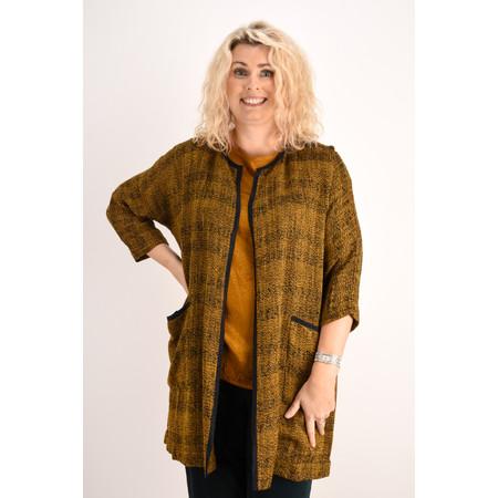 Masai Clothing Woven Jarmis Jacket - Brown