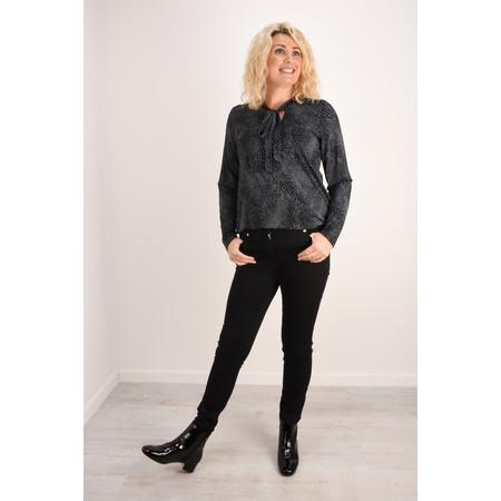 Robell Trousers Star Power Stretch Skinny Jean - Black