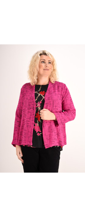 Masai Clothing Josefa Jacket Pink Org
