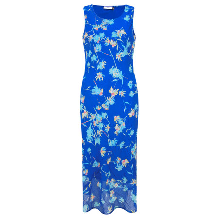Adini Camilla Print Charlotte Dress - Blue