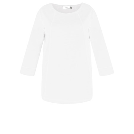 Adini Cotton Slub Ruth Top - White