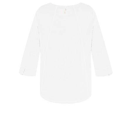 Adini Cotton Slub Ruth Top - White
