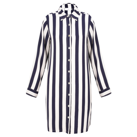Adini Mainsail Stripe Surf Tunic - Blue