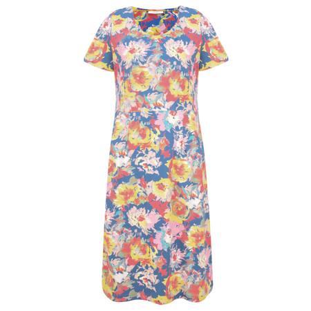 Adini Octavia Print Octavia Dress - Blue