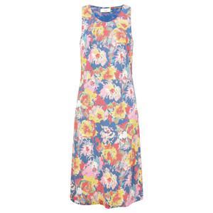 Adini Octavia Print Jade Dress
