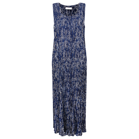 Adini Promenade Stripe Promenade Dress - Blue