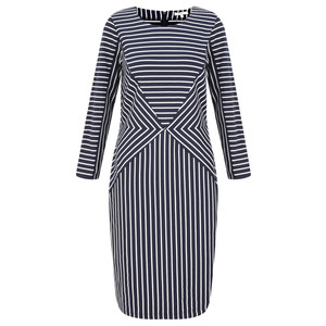 Sandwich Clothing Striped Jersey Dress
