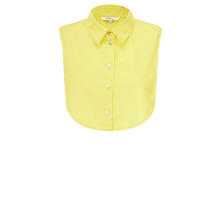 Sandwich Clothing Cotton Collar  - Yellow