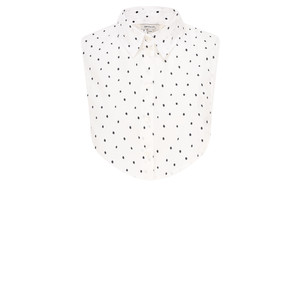 Sandwich Clothing Cotton Dot Collar
