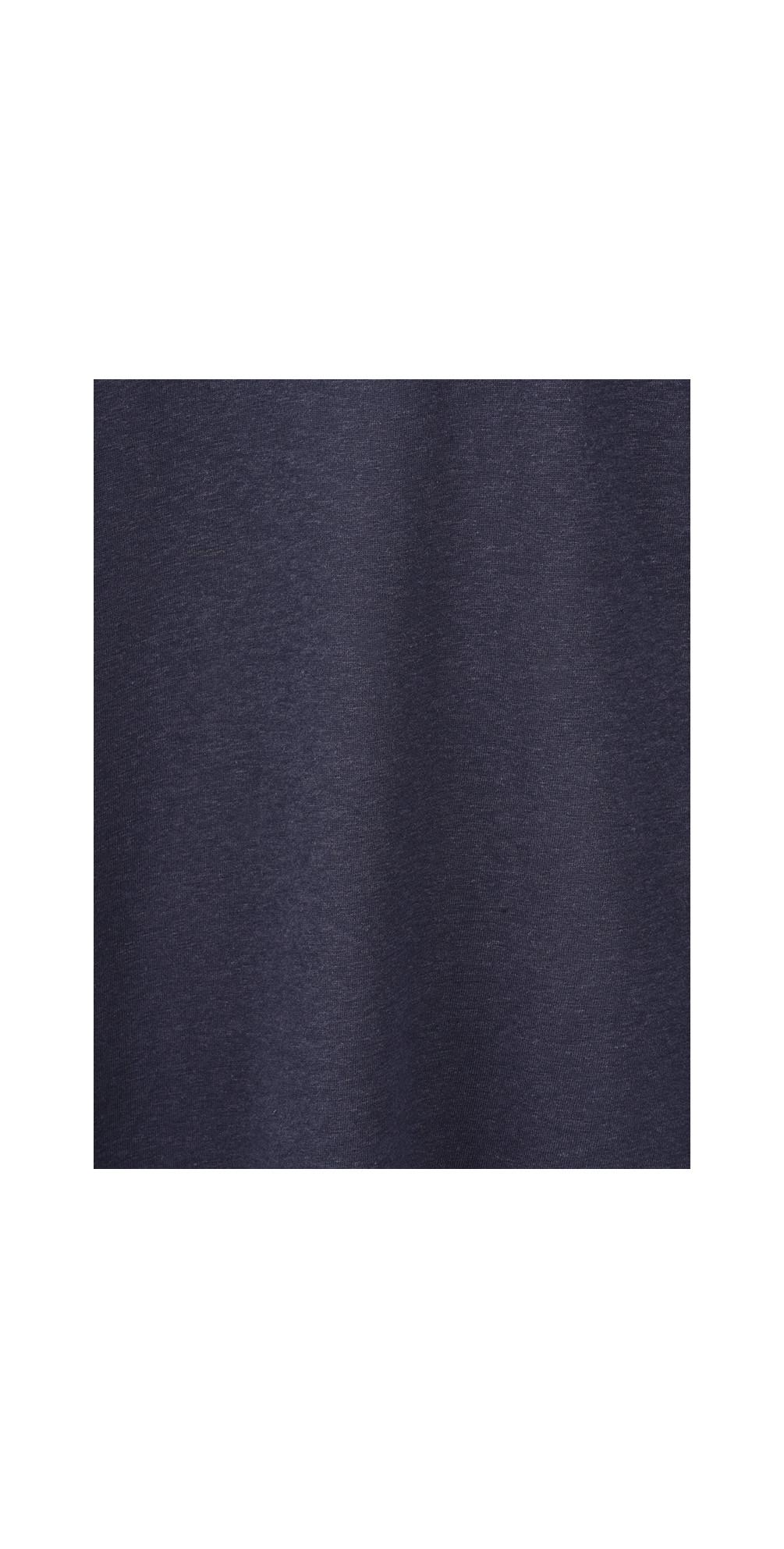 Linen Mix Long Sleeve Top main image