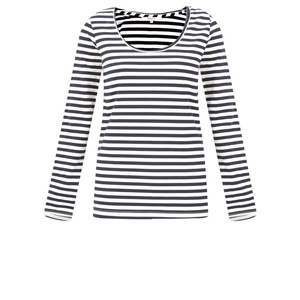 Sandwich Clothing Organic Cotton Stripe Top