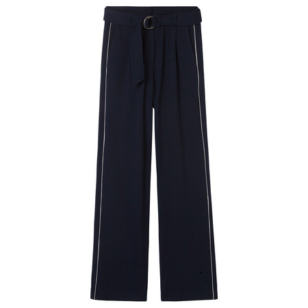 Sandwich Clothing Crepe Jersey Wide Leg Laura Trouser - Blue