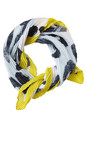 Sandwich Clothing Chalk Mint Square Abstract Animal Becky Scarf