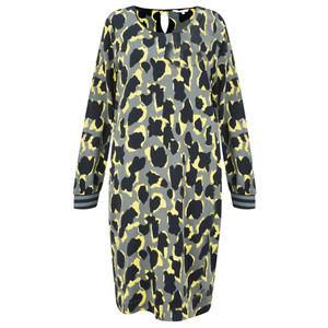 Sandwich Clothing Abstract Animal Spot Print Dress