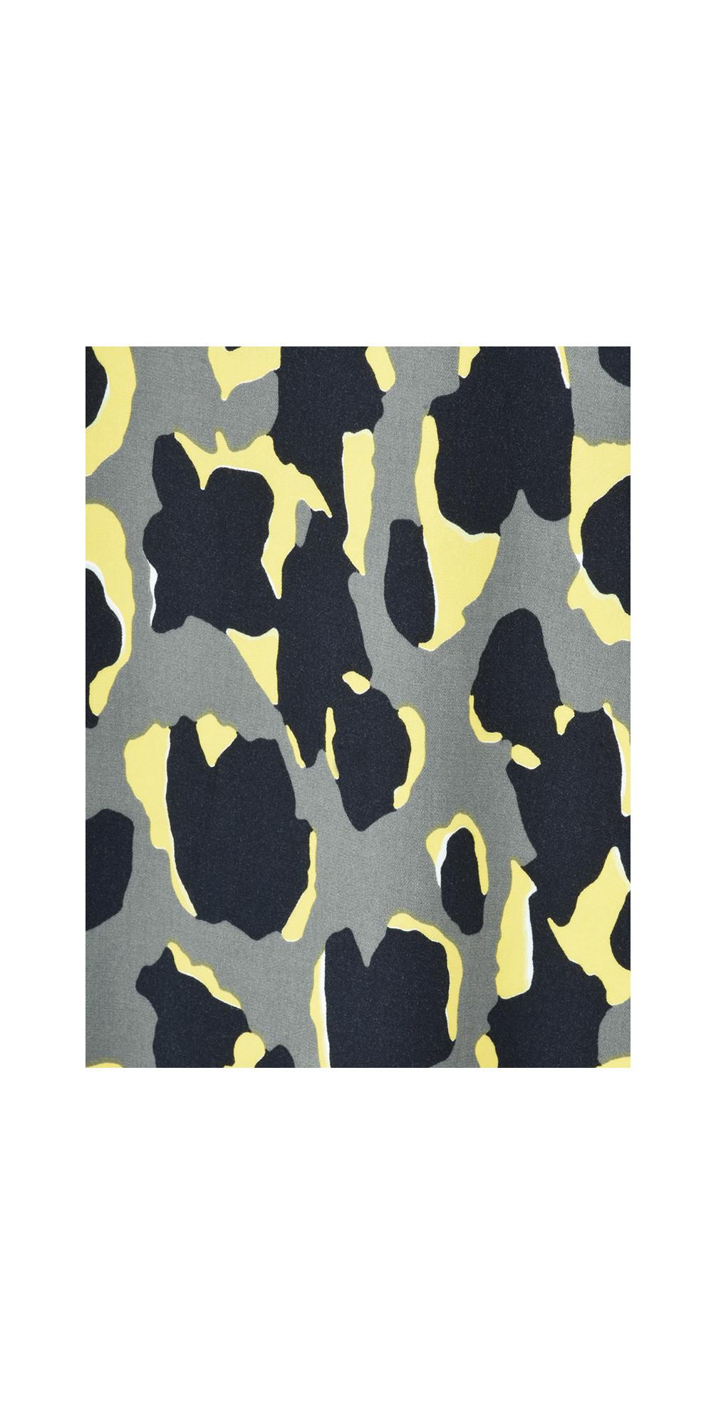 Abstract Animal Spot Print Dress main image