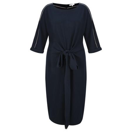 Sandwich Clothing Tie Detail Dress - Blue