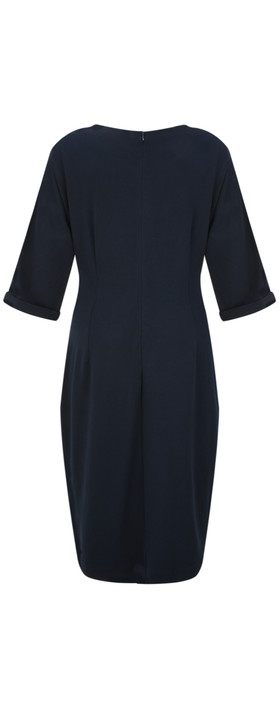 Sandwich Clothing Tie Detail Dress Dark Sapphire