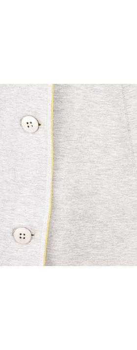 Sandwich Clothing Longline Blazer Jacket Fresh Grey HTR