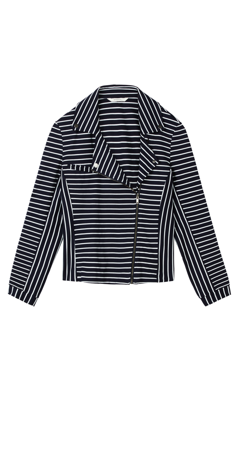 Striped Jersey Jacket main image