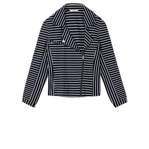 Sandwich Clothing Striped Jersey Jacket