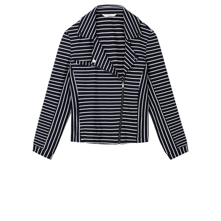 Sandwich Clothing Striped Jersey Jacket - Blue