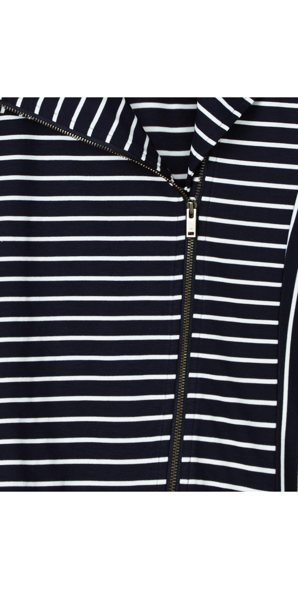 Striped Jersey Jacket main image