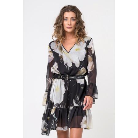 Religion ADMIRE Charm Floral Print Dress - Black