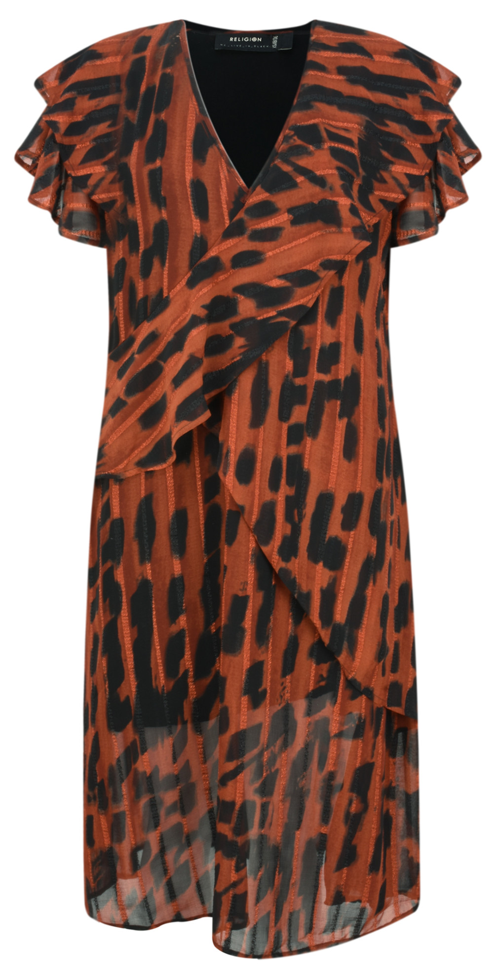 Ace Animal Print Dress main image