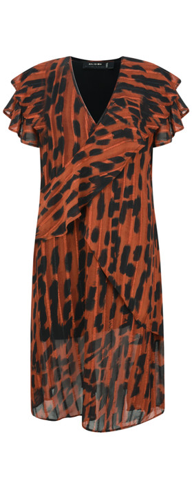 Religion Ace Animal Print Dress Form Print