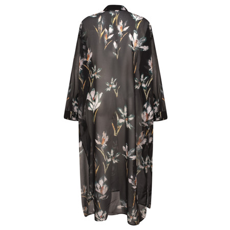 Religion Allure Maxi Shirt Tunic - Black