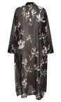 Religion Dark Rise Print Allure Maxi Shirt Tunic
