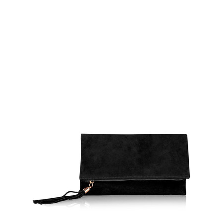 Gemini Label  Silvi Clutch Bag - Black