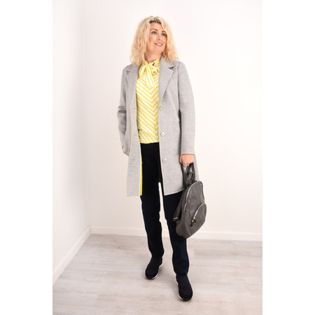 Sandwich Clothing Longline Blazer Jacket - Grey