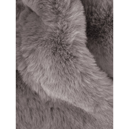 AlexMax Silvia Faux Fur Scarf - Brown