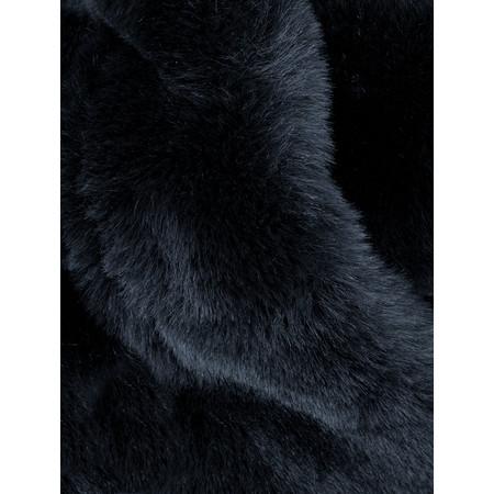 AlexMax Silvia Faux Fur Scarf - Blue