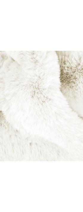 AlexMax Silvia Faux Fur Scarf Panna Cream