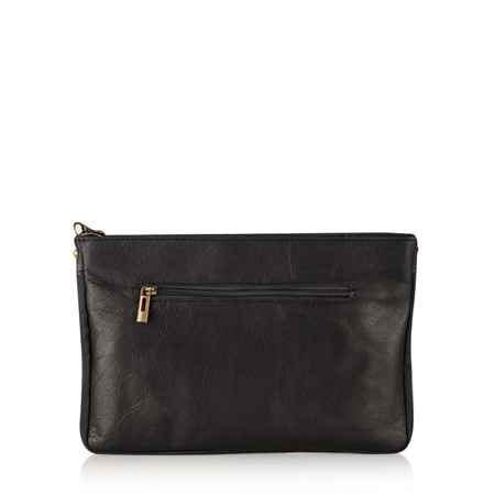 Gemini Label  Paola Animali Clutch - Beige