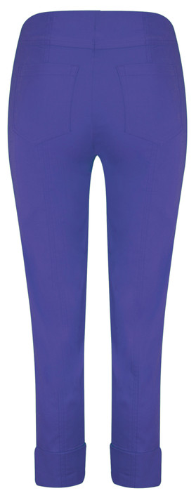 Robell  Bella 09 Royal Blue Ankle Length 7/8 Cuff Trouser Royal Blue 67
